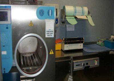 Camera Di Sterilizzazione Interna